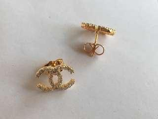 18k gold plated Earring Studs