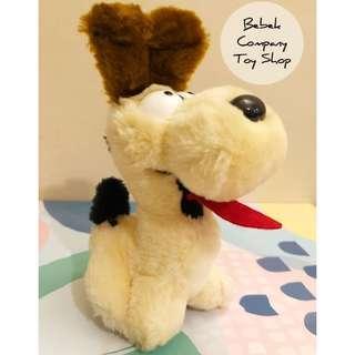美國二手🇺🇸 6吋 1983年 Garfield Odie 加菲貓 歐弟狗 古董玩具 玩偶 娃娃 歐弟 絕版