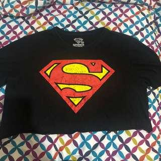 Cropped 'Superman' tee
