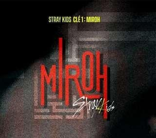 Stray Kids CLÉ MIROH NORMAL EDITION GROUP ORDER