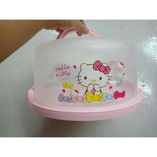 """*FREE POST to West Malaysia only / Ready stock* Hello Kitty Melody 8"""" cake storage each as shown in design / color. Free delivery is applied for this item."""