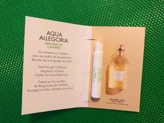 Guerlain Aqua Allegoria Bergamote Calabria 香水板