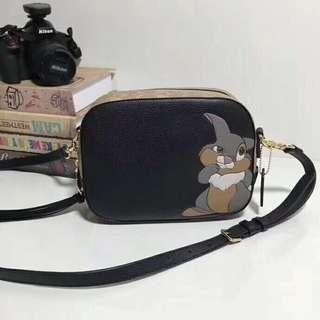 🚚 SALE COACH x Disney crossover women's sling bag F69253