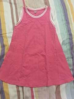 Preloved dress anak uniqlo 4thn