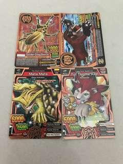 Animal Kaiser Cards(fighter cards)