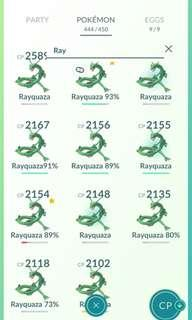 🚚 $2 ONLY legendary rayquaza POKÉMON GO