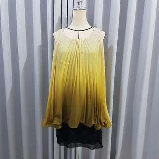 Korean yellow dress