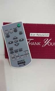 Sony projector remote.