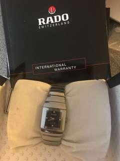 Rado diamond titanium watch