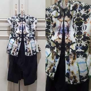 (NEW) Keepsake Abstract Tube Dress