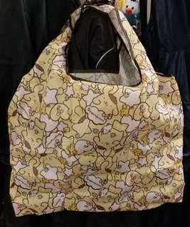 布甸狗購物袋