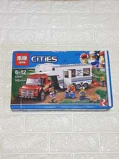 🚚 Lepin 02093 Pick Up Caravan Camper