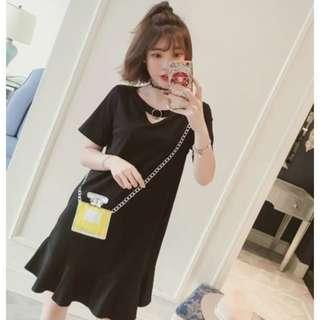 🚚 [ XL - 5XL ] Plus Size Korean Dress (Pre Order)