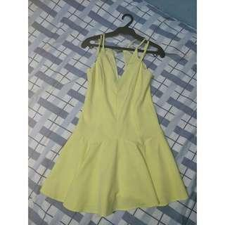 FOR SALE: Mustard Seed Yellow Beach Dress