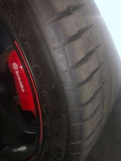 Used tyre 265/35/18 michelin ps4