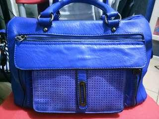 Blue doctors bag