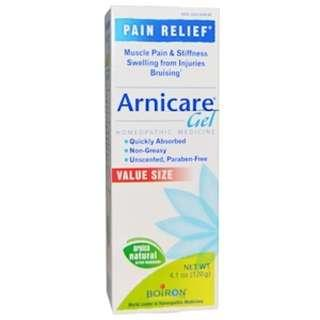 Boiron, Arnicare Gel, Pain Relief, Unscented, 4.1 oz (120 g)  Boiron, Arnicare Gel, Pain Relief, Unscented, 4.1 oz (120 g)  Boiron, Arnicare Gel, Pain Relief, Unscented, 4.1 oz (120 g) Boiron, Arnicare Gel, Pain Relief, Unscented, 4.1 oz (120 g)