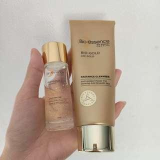 Bio essence 24k Gold Facial wash + bio gold water