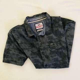 Von Dutch Men's Short Sleeve Casual Shirt