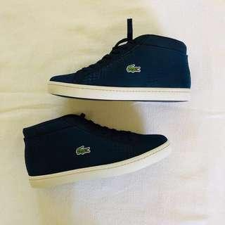 Lacoste Straightset SP Chukka 417 1 Cam Navy Leather/Synthetic