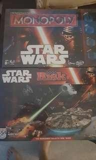 Star Wars Risk and Monopoly new sealed