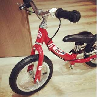 Kids Bicycle KinderBike Red - In Excellent Condition!