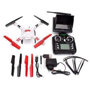 White 5.8G FPV Quadcopter with Camera and Remote LCD Monitor (U.P $135)