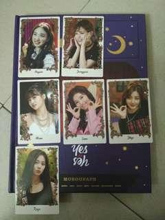 MONOGRAPH YES OR YES PHOTOCARDS
