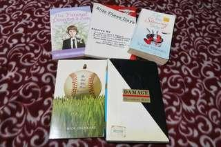 Pre-loved books for P100