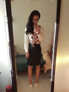 Korean office blouse