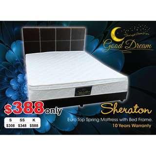 $388 Sheraton Queen Bedset