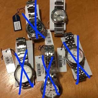 Seiko Automatic and Quartz watches sale