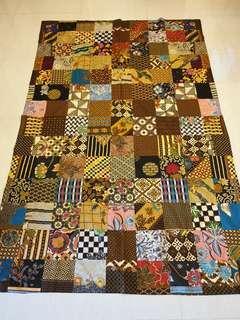 Patchwork blanket (batik cotton)