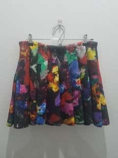 H&M Colorful A-line Skirt - EUR40 US10 CA10