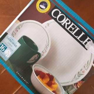 Corelle Rosemarie 16-pc Dinnerware set @ RM 235 only!!