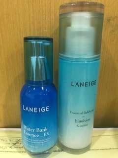 Laneige Waterbank Essence & Emulsion (FREE)