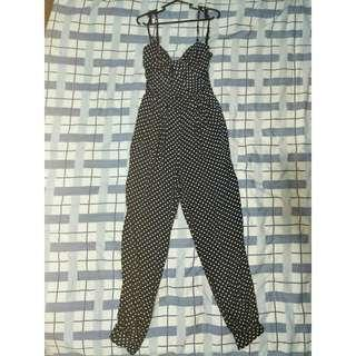 FOR SALE: ZARA sexy Polka dot jumpsuit