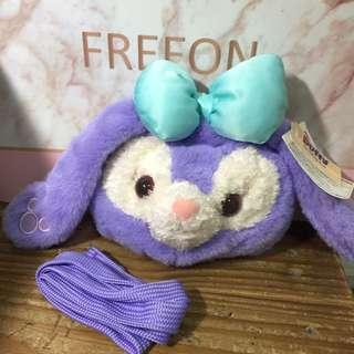 🚚 紫色史黛拉立體大臉肩背包