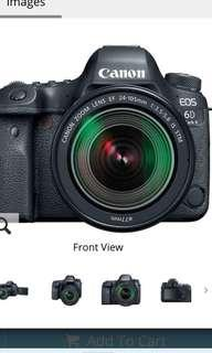 Canon EOS 6D Mark II DSLR Camera with 24-105mm f/3.5-5.6 Lens STM