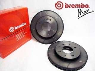 Honda Shuttle,Airware,Jazz,Fit GE8 Brembo Slotted Front Disc Rotor