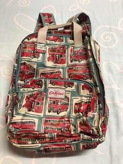 Cath Kidston Backpack in London Buses print