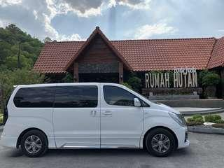 MPV Hyundai Starex 11 Seater /Chauffer /Rental /Tour / Trip /Transport to Malaysia