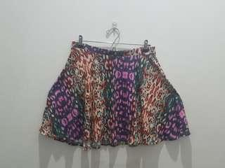 TOPSHOP Coloful A-line Skirt - EUR 40 US 8 UK 12