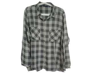 Tom Tailor - Boyfriend Shirt (Kemeja Flanel)