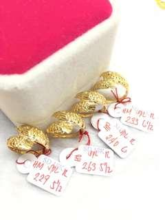 18k Saudi Gold Arowana Ring (Best seller)