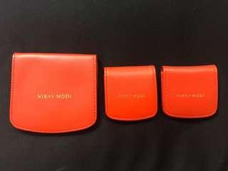 Nirav Modi Earrings holder ( 1 Large and 2 Small)