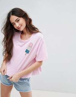 Pull & bear sparkle t shirt