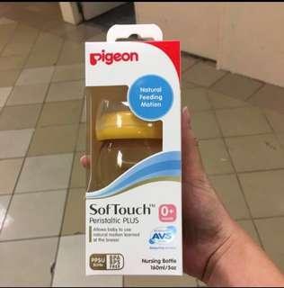 🚚 Pigeon Peristaltic Plus Nursing Bottle 160ml