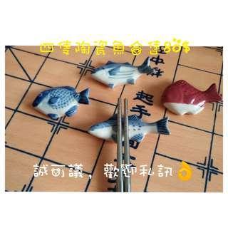 🚚 陶瓷  筷子架