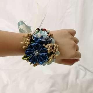 Handmade Japan fabric flower bridesmaids wrists corsage (Pre-order) #MakeSpaceForLove